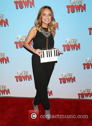 Kristin Chenoweth - On The Town Opening Night - Arrivals at Lyric Theatre, - New York, New York, United States...