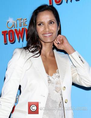 Padma Lakshmi - On The Town Opening Night - Arrivals at Lyric Theatre, - New York, New York, United States...