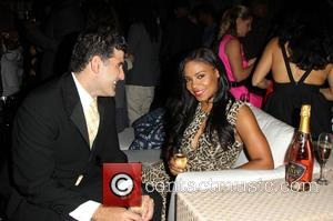 Sanaa Lathan and Guest - A variety of stars were photographed at the launch party of XXIV Karat wine which...