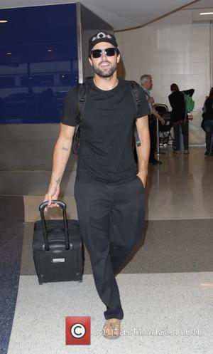 Brody Jenner arrives at Los Angeles International Airport (LAX)