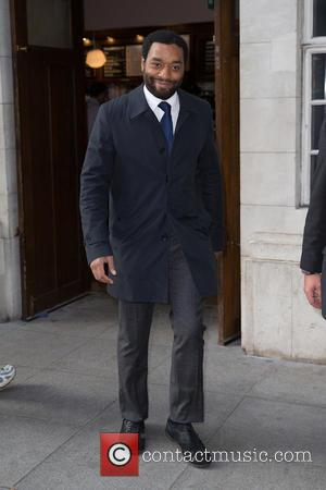 Chiwetel Ejiofor - Chiwetel Ejiofor outside the BBC studios at BBC Portland Place - London, United Kingdom - Friday 17th...