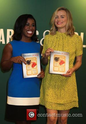 A Cookbook is promoted from the Netflick Hit Orange is the New Black with appearances by Taylor Schilling and Uzo...