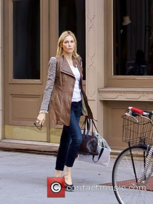 Kelly Rutherford spotted out in Soho in New York City