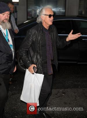 Jimmy Page - Celebrities at the BBC Radio 2 studios at BBC Portland Place - London, United Kingdom - Friday...