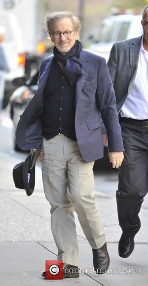 Steven Spielberg out in Soho