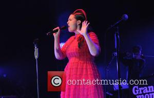 Dutch pop/jazz singer Caro Emerald performs at The O2 Arena in London