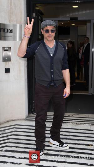 Robert Downey Jr. - Celebrities at the BBC studios in Portland Place at BBC Portland Place - London, United Kingdom...