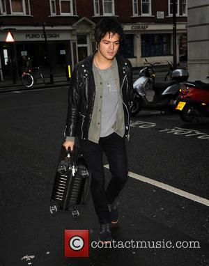 Jamie Cullum - Jamie Cullum arrives at BBC Radio 2 - London, United Kingdom - Friday 17th October 2014