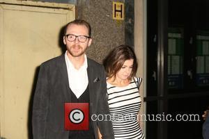 Simon Pegg and Maureen Pegg