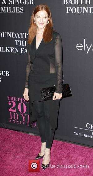 Shots of a variety of stars as they attended the Womens clothing store, Elyse Walker's 10 Year Anniversary Pink Party...