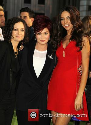 Sara Gilbert, Sharon Osbourne and Terri Seymour