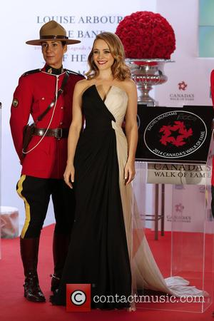 2014 Canada's Walk of Fame at the Sony Centre for the  Performance Art.