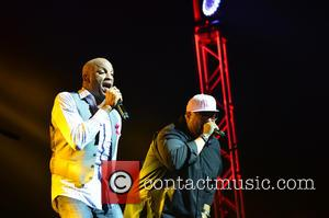 Donnie Mcclurkin and Fred Hammond