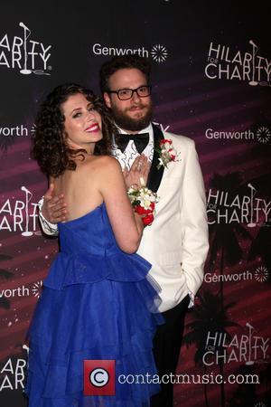 Lauren Miller Rogen and Seth Rogen