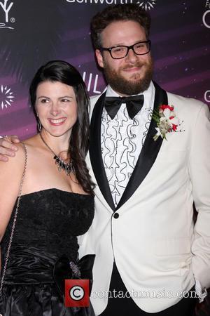 Stephanie Buffaloe and Seth Rogen