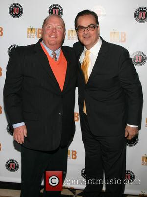 Steve Higgins and Mario Batali