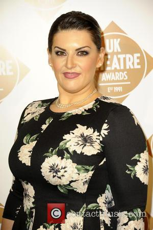 Photo's of a variety of stars as they arrived at the UK Theatre Awards which was held at the Guildhall