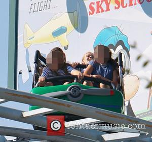 Cindy Crawford takes her daughter Kaia Gerber to Disneyland