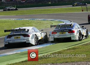 Nico and Dtm Cars - Rear View - Maxime Martin