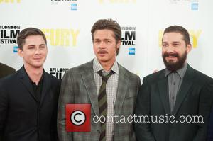 Brad Pitt, Logan Lerman and Shia Labeouf