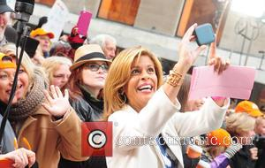 Hoda Kotb - Neil Diamond performing on the 'Today' show as part of the Toyota Concert Series - New York...