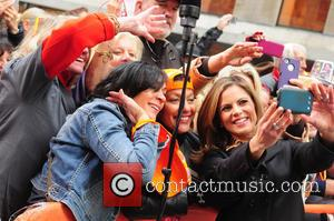 Natalie Morales - Neil Diamond performing on the 'Today' show as part of the Toyota Concert Series - New York...