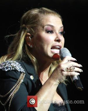 American singer songwriter Anastacia gave a live performance at the music venue 'Paradiso' in Amsterdam, Netherlands - Monday 20th October...