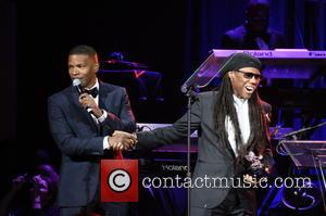 Jamie Foxx and Nile Rodgers