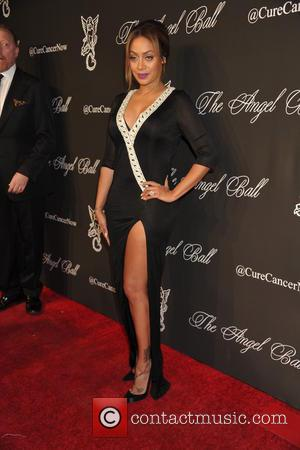 La La Anthony - A variety of celebs were photographed on the red carpet at the Angel Ball 2014 Held...