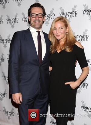 Jon Hamm and Jennifer Westfeldt - A host of celebrities took to the red carpet as they attended the Opening...