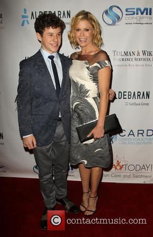 Nolan Gould and Julie Bowen