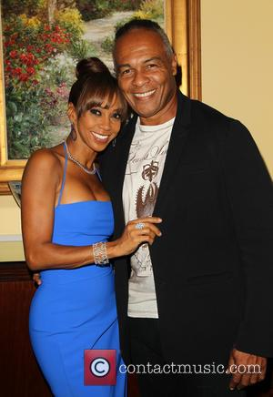 Holly Robinson Peete and Ray Parker Jr.