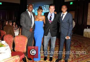 Rodney Peete, Holly Robinson Peete and William Baldwin