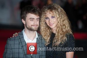 Juno Temple and Daniel Radcliffe - Photographs of the stars of the new film 'Horns' arrived at the UK Premiere...