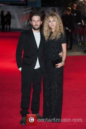 Juno Temple and Michael Angarano - Photographs of the stars of the new film 'Horns' arrived at the UK Premiere...