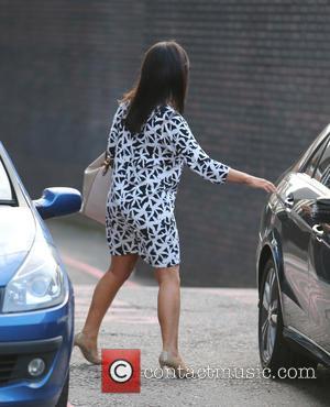 Susanna Reid - Celebrities at the ITV studios - London, United Kingdom - Monday 20th October 2014