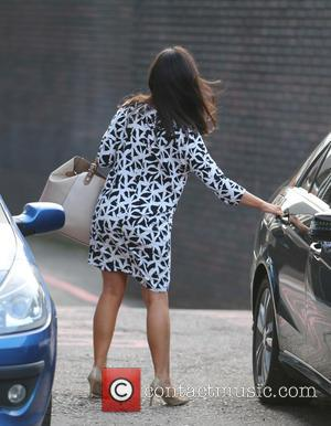 Susanna Reid - Celebrities at the ITV studios - London, United Kingdom - Monday 20th October 2014