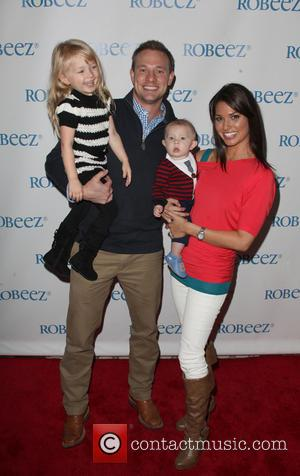 (l-r) Ava Grace Strickland, Tye Strickland, Beckett Thomas Strickland and Melissa Rycroft
