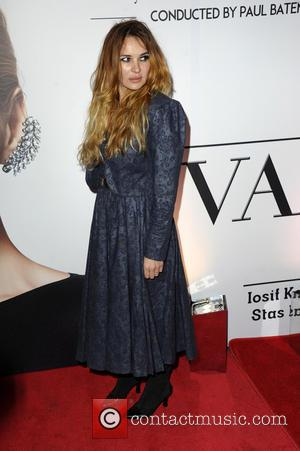 Kierston Wareing - Photographs of stars as they arrived to see Russian singer Valeriya perform live in concert at the...