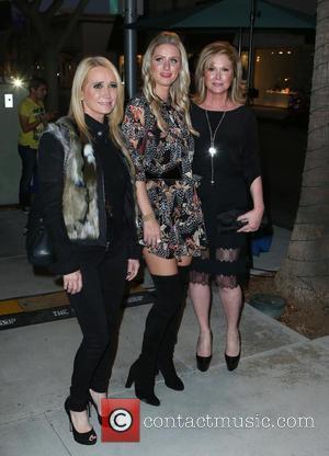 Kim Richards, Nicky Hilton and Kathy Hilton