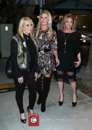 Kim Richards, Nicky Hilton and Kathy Hilton - Nicky Hilton's' 365 Style' book party for the filming of 'The Real...