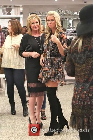 Kathy Hilton and Nicky Hilton - Photos from the book signing of Nicky Hilton's '365 Style' The signing was held...
