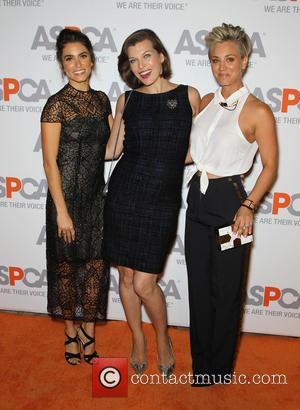 Nikki Reed, Milla Jovovich and Kaley Cuoco-Sweeting - A host of celebrities attended the 2014 American Society for the Prevention...