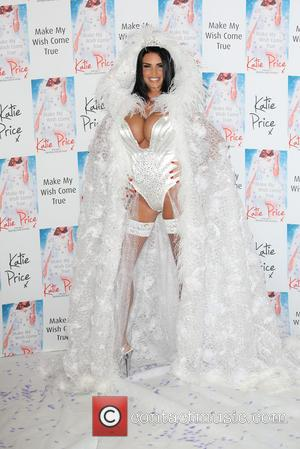 Katie Price - Katie Price launches her 10th novel 'May your wish come true' at the Worx - Arrivals -...