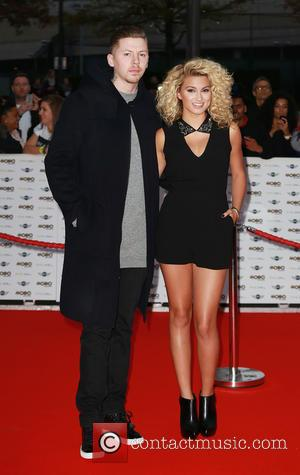 Professor Green and Tori Kelly - 2014 MOBO Awards - Arrivals - London, United Kingdom - Wednesday 22nd October 2014