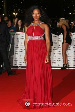 Jamelia - A variety of stars from the music industry attended the MOBO Awards 2014 which was held at Wembley...
