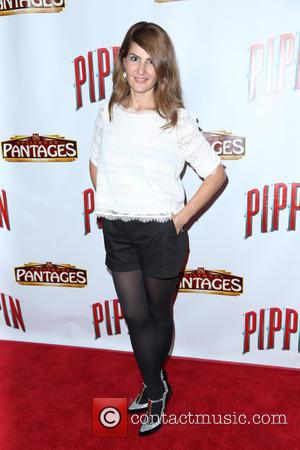 Nia Vardalos - Opening night of 'Pippin' at Hollywood Pantages Theatre - Arrivals - Los Angeles, California, United States -...
