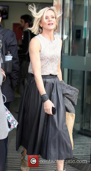 Linda Barker - Linda Barker outside the ITV Studios - London, United Kingdom - Wednesday 22nd October 2014