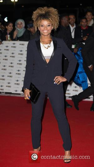 Fleur East - The MOBO awards at Wembely Arena - Arrivals at Wembely Arena, MOBO - London, United Kingdom -...
