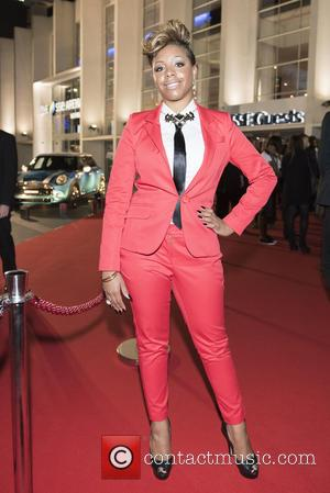 Anastasia Baker - 2014 MOBO Awards - Arrivals at SSE Arena, Wembley - London, United Kingdom - Wednesday 22nd October...